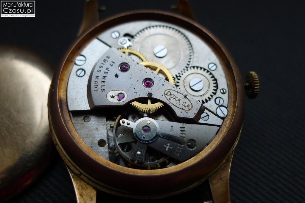 Renowacja zegarka - DOXA przed 5
