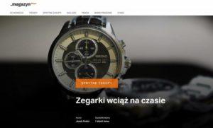 """Magazyn Allegro: """"Zegarki wciąż na czasie"""""""